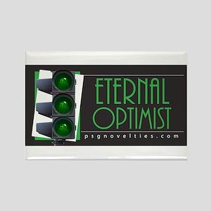 Eternal Optimist Rectangle Magnet
