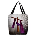 Cross Polyester Tote Bag