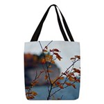 Fall Color Polyester Tote Bag