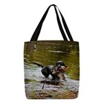 Lab Water Spray Polyester Tote Bag