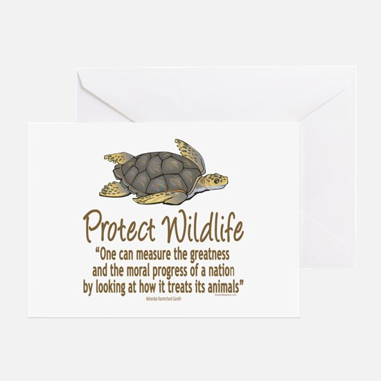Protect Sea Turtles Greeting Card