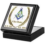 Masonic 50 Year Member Keepsake Box