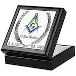 Masonic 25 Year Member Keepsake Box