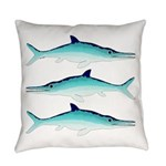 Ichthyosaur Everyday Pillow