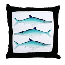Ichthyosaur Throw Pillow