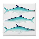 Ichthyosaur Tile Coaster