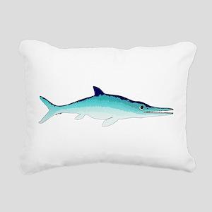 Ichthyosaur Rectangular Canvas Pillow