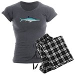 Ichthyosaur Women's Charcoal Pajamas