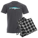 Ichthyosaur Men's Charcoal Pajamas