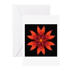 Orange Lily II Greeting Cards (Pk of 10)