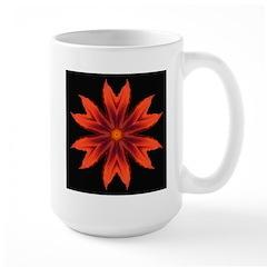 Orange Lily II Large Mug