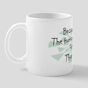 Because Human Resources Person Mug