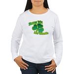 Blow me im Irish Women's Long Sleeve T-Shirt