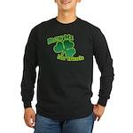 Blow me im Irish Long Sleeve Dark T-Shirt