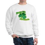 Blow me im Irish Sweatshirt