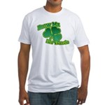 Blow me im Irish Fitted T-Shirt