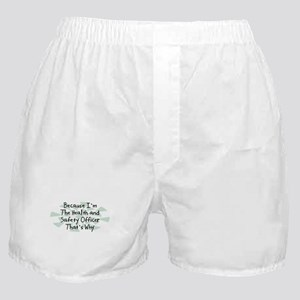 Because Health and Safety Officer Boxer Shorts