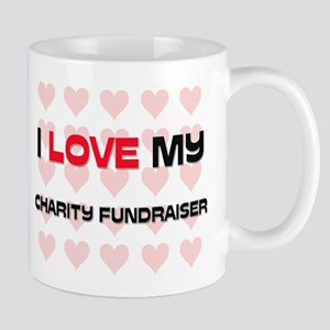 I Love My Charity Fundraiser Mug