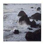 West Coast Waves Ceramic Tiles & Tile Coaster