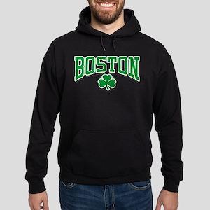 Boston Shamrock Hoodie (dark)