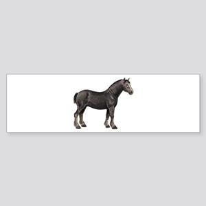 Percheron Horse Bumper Sticker