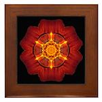 Marigold I Framed Tile
