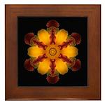 Lily II Framed Tile