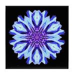 Bachelors Button III Tile Coaster