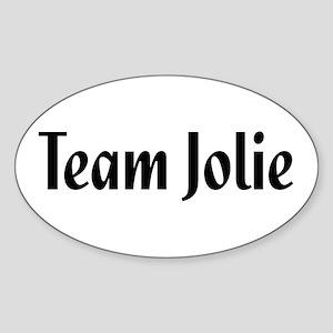 Team Jolie Oval Sticker
