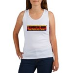 I'd Rather Be Right Women's Tank Top