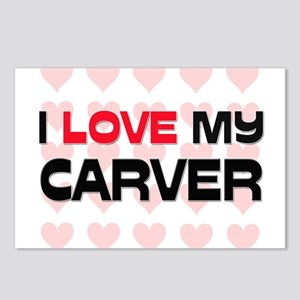 I Love My Carver Postcards (Package of 8)