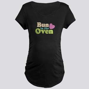 Buns in the Oven Maternity Dark T-Shirt