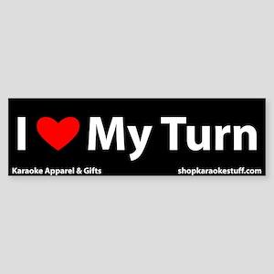 I Heart My Turn Bumper Sticker