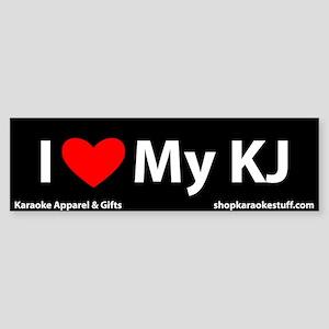 I Heart My KJ Bumper Sticker
