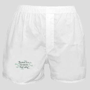 Because Gamer Boxer Shorts