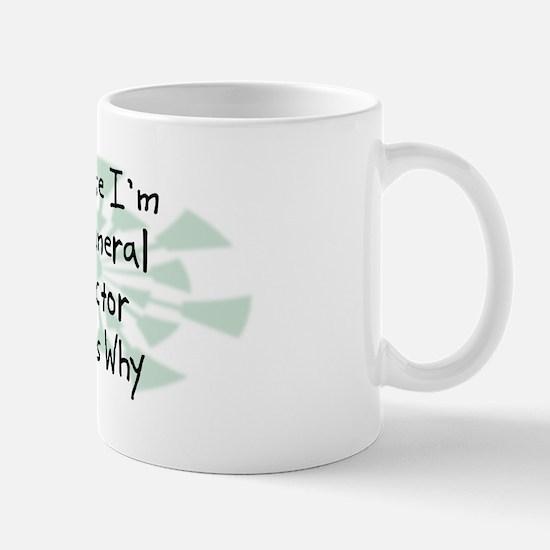 Because Funeral Director Mug