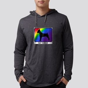 Rat Terrier (rainbow) Long Sleeve T-Shirt