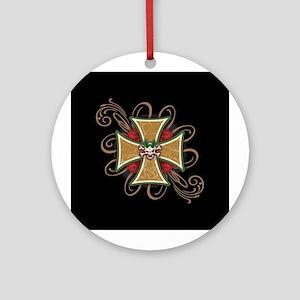Eliza Day Ornament (Round)