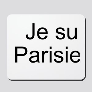 Je Suis Parisienne Mousepad