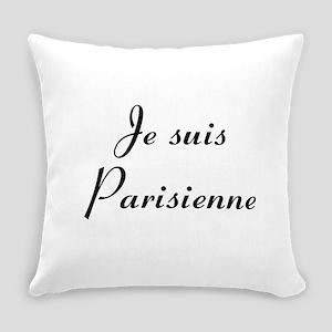 Je suis Parisienne Everyday Pillow