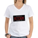 Mitchum Women's V-Neck T-Shirt