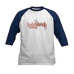 Saddlebred Horse Kids Baseball Jersey