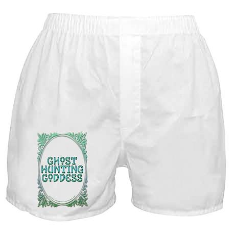 Ghost Hunting Goddess Boxer Shorts