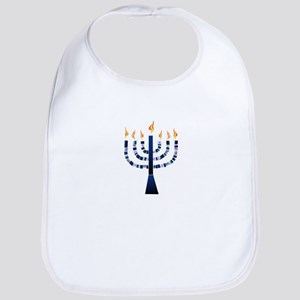My Menorah Bib