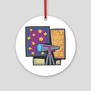 Astronomy Ornament (Round)
