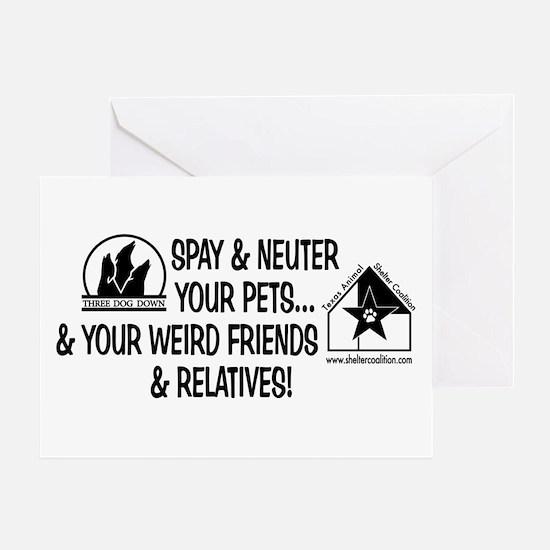 Spay & Neuter Fun! Greeting Card