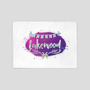 Lakewood 5'x7'Area Rug