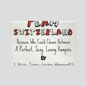 Team Switzerland Rectangle Magnet
