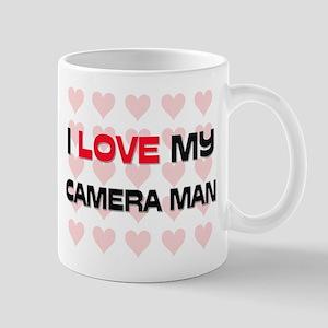 I Love My Camera Man Mug