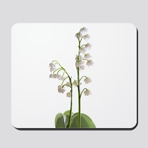 lily of Valley Mousepad